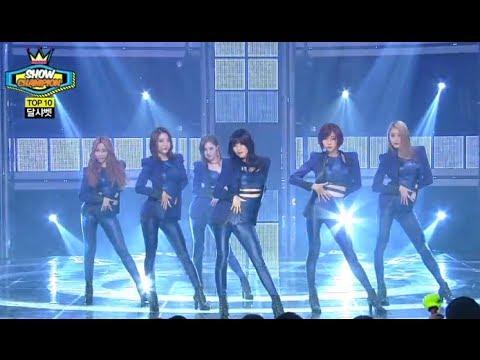 Dalshabet - B.B.B(Big Baby Baby), 달샤벳 - 비비비, Show Champion 20140122