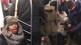 NYC 17th Annual No Pants Subway Ride 2018