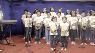 Choir by group of kids