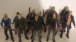Jason Voorhees action figure comparison video
