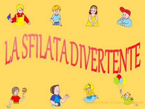 LA SFILATA DIVERTENTE - Canzoni per bambini di Pietro Diambrini
