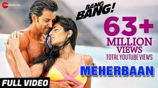 Meherbaan Full Video | BANG BANG! | feat Hrithik Roshan & Katrina Kaif | Vishal Shekhar