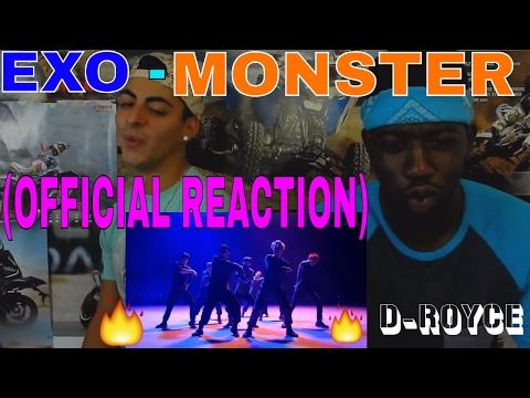 EXO MONSTER MV (OFFICIAL REACTION)