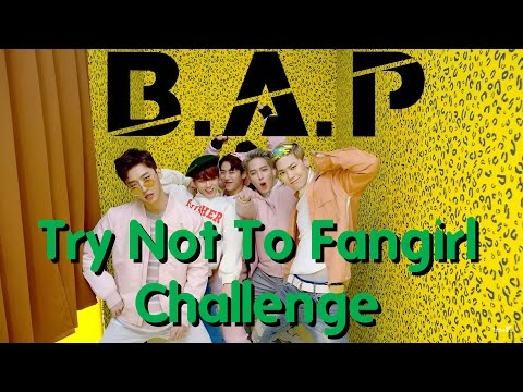 B.A.P: Try Not To Fangirl Challenge