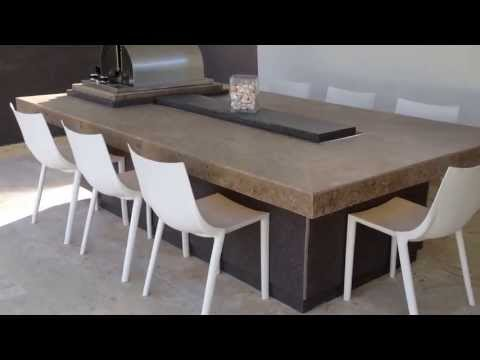 BBQ / DINING TABLE - BARBACOASLUNA.COM - 787.455.2114