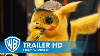 POKÉMON MEISTERDETEKTIV PIKACHU - Trailer #2 Deutsch HD German (2019) HD