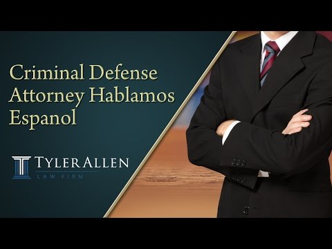 Criminal Defense Attorney Hablamos Espanol