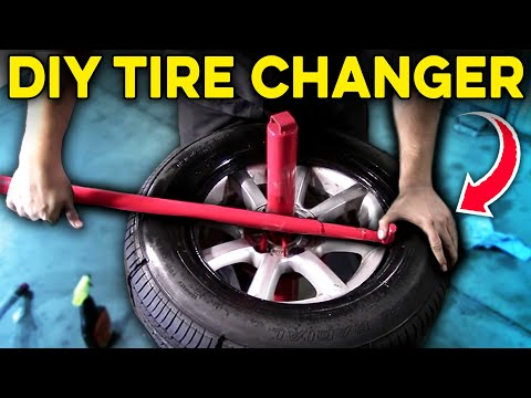 how to use tire machine