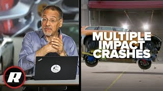 Car Tech 101: See how new tech saves you in a car crash | Cooley On Cars