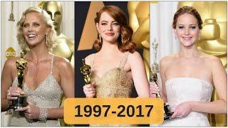 Oscar-winning best actresses 1997-2017