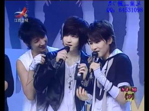 SJ-M Henry and Ryeowook singing S.H.E's《中国话/Chinese》