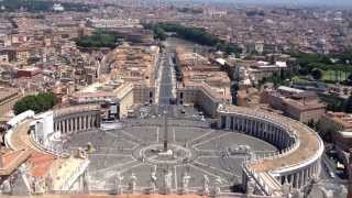 Tòa Thánh Vatican - Nhà thờ lớn nhất thế giới - Du lịch Roma - Italia
