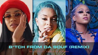 Mulatto- B*tch From Da Souf (Remix) ft. Saweetie & Trina *Lyric Video*