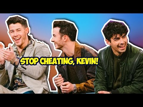 jonas brothers being childish for 10 minutes straight