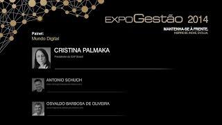 Palestra:  Mundo Digital - Cristina Palmaka
