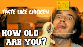 HOW OLD ARE YOU!? (PEWDIEPIE, JACKSEPTICEYE, THEDIAMONDMINECART, MARKIPLIER)