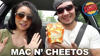 THE TRUTH ABOUT MAC N' CHEETOS!! (Taste Test) | Cheat Meal
