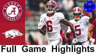 #1 Alabama vs Arkansas Highlights   College Football Week 15   2020 College Football Highlights
