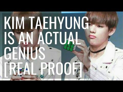 BTS V is a genius - 8 Types of Intelligence