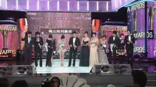 Lee Min Ho & Goo Hye Sun ,Kim Tae Hee in Kbs Drama Awards 2009.12.31