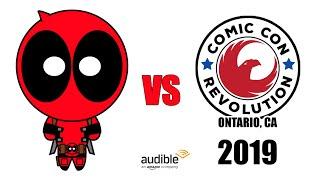 Deadpool vs Comic Con Revolution Ontario 2019