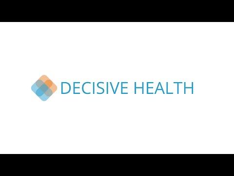 Decisive Health: DreamIt Health Baltimore 2015 Demo Day