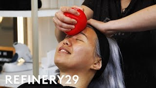 I Got A Face Gym Workout Facial For $325 | Beauty With Mi | Refinery29