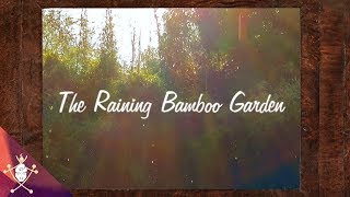 🌧️The Raining Bamboo Garden🌧️//30 Mins.With Music//Relax,Sleep,Meditate, Chill