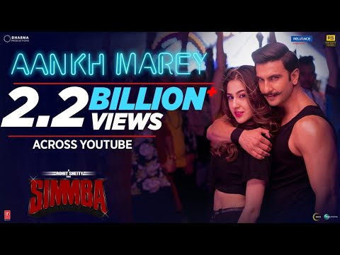 SIMMBA: Aankh Marey Video Song