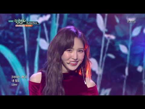 뮤직뱅크 Music Bank - Butterflies - 레드벨벳(Red Velvet).20181130