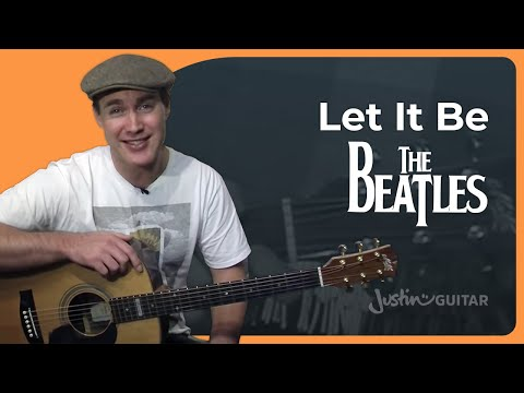 Baixar Let It Be - The Beatles (Easy Songs Beginner Guitar Lesson BS-910) How to play