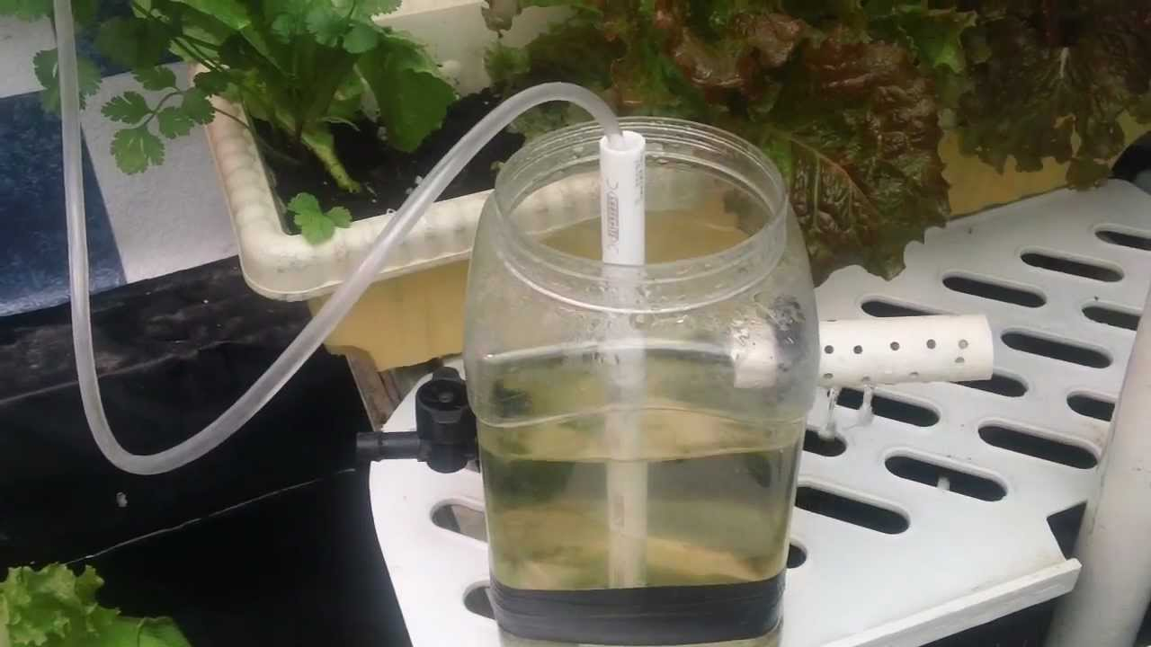 Simple Homemade Water Pump Demonstration Youtube
