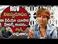I am a die-hard fan of RGV- Febah Martin- Interview