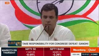 #Elections2019 Results: Congress Press Conference