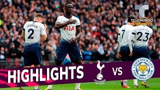 Tottenham vs. Leicester City: 3-1 Goals & Highlights | Premier League | Telemundo Deportes