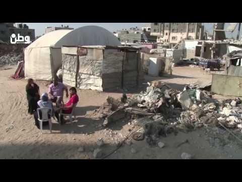 لاجئات غزة .. ركام المنازل المدمرة من ليبيا الى القطاع