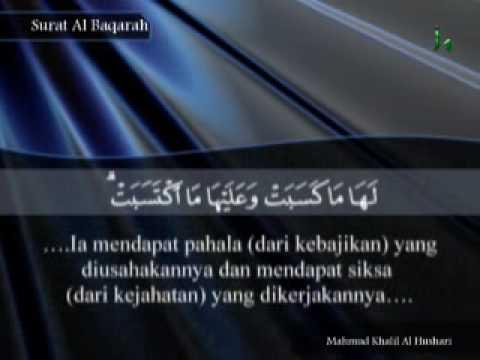akhir albakara Ayat-ayat Dipilih  Surah Quran Terjemahan Indonesia