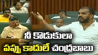 Minister Anil Yadav shocking comments on Nara Lokesh in As..