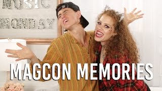 Funny Bean Boozled Challenge with Nash Grier   Music Monday with Mahogany LOX