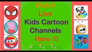 🔴Top Live Kids cartoon channels Here !!! 🔴Toys Kids Tv   Peppa Pig   Baby Bus   PJ Masks  BinBin