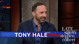 Tony Hale's Tricks To Staying Present
