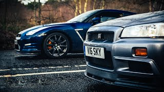 R34 Nissan Skyline GT-R Vs R35 GT-R: The Ultimate Godzilla Review