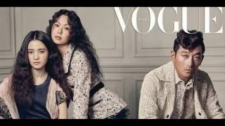 160524 Ha Jung Woo, Kim Min Hee, and Kim Tae Ri bring their on screen chemistry alive on 'Vogue'