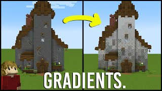 One trick to change the way you build in Minecraft