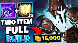TWO ITEM XERATH CHALLENGE!! NO BUYING UNTIL 20,000 GOLD - League of Legends