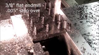 3D milling tapered boss on Tormach PCNC 1100