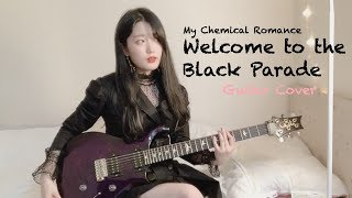 My Chemical Romance - Welcome To The Black Parade (Guitar Cover By Yujin)