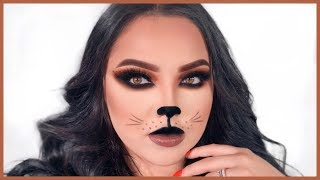 Easy Sexy Cat Halloween Makeup!