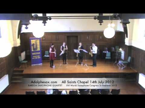 WSCXVI BAREGA SAXOPHONE QUARTET   Tower of the winds by Andrews Ball