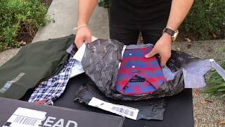 First Unboxing!!!! Threadbeast vs Fivefourclub vs UrbaneBox.